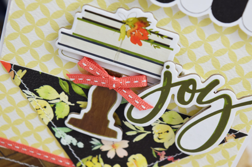 """""""Joy"""" Card by Becki Adams featuring the """"Welcome Home"""" collection by #CartaBellaPaper"""