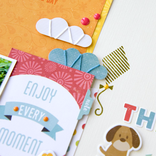 "The Dog Days of Summer Layout by Tegan Skwiat with the ""Happy Summer"" collection by #EchoParkPaper"