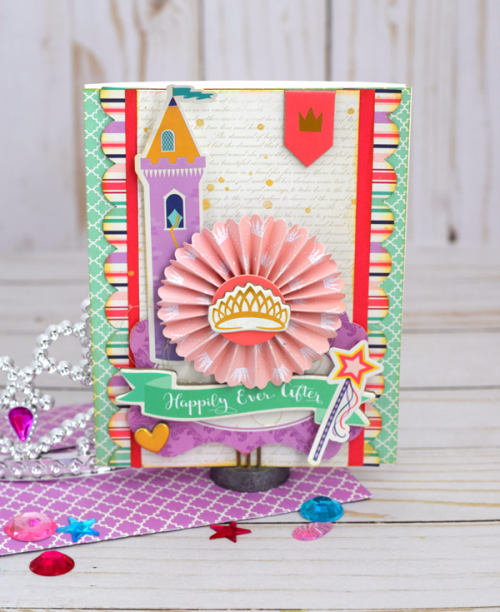 "Happily Ever After Card by Tya Smith with the ""Once Upon a Time"" collection by #EchoParkPaper"