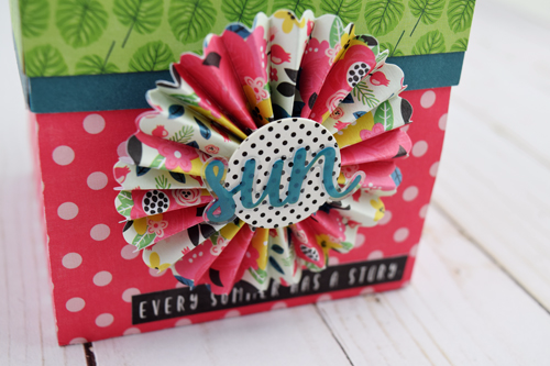 """Summer Gift Mini Album by Beck Adams with the """"Summer Fun"""" collection by Becki Adams"""