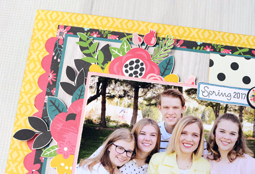 "I Love Being Your Mom Layout Layout by Jana Eubank with the ""Summer Fun"" Collection by #EchoParkPaper"