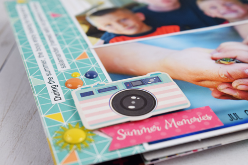"Fun In the Sun Mini Album by Becki Adams with the ""Summer Dreams"" collection by #EchoParkPaper"