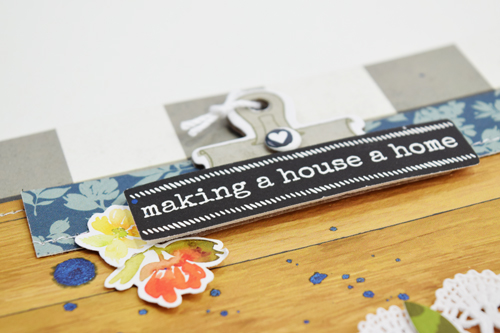 """""""Home"""" Layout by Becki Adams featuring the """"Welcome Home"""" collection by #CartaBellaPaper"""