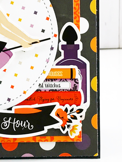"Halloween ""Bewitched"" card by Tya Smith for #EchoParkPaper"