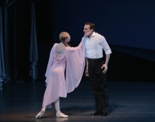 "photo © Paul Kolnik Janie Taylor and Sébastien Marcovici in ""Bal de Couture"""