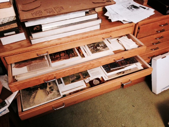 Drawers of assembled puzzles, Courtesy of The Strong, Rochester, New York.