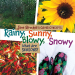 Jane Brocket: Rainy, Sunny, Blowy, Snowy: What Are Seasons? (Jane Brocket's Clever Concepts)