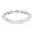 Vintage-style Diamond Wedding Ring - �469