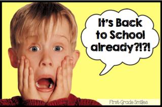 Back to school already