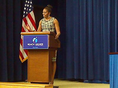 Michelle larger