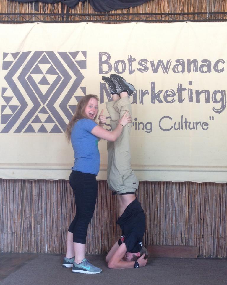 Yoga @ Botswana Craft (1)