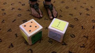 Src dice on the floor