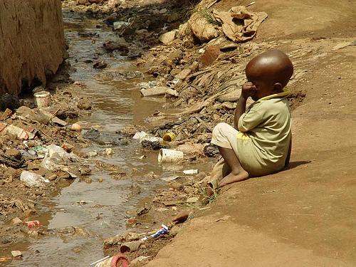 Uganda slum