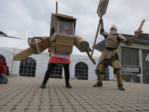 Cardbaord Robots