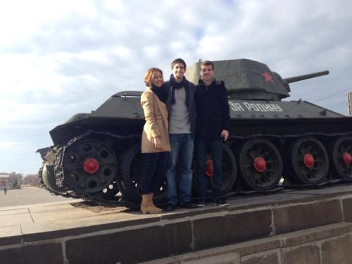 T-34 in volgograd