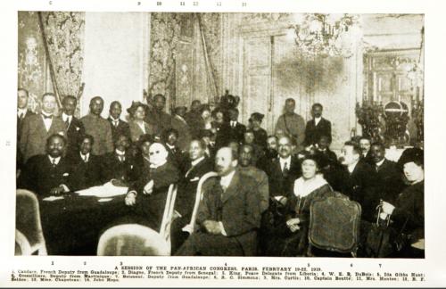 Pan-African_Congress _Paris _February_19-22 _1919