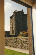 View of tower from front door