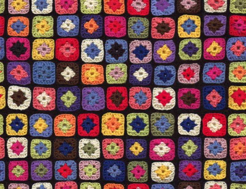 Granny Square fabric
