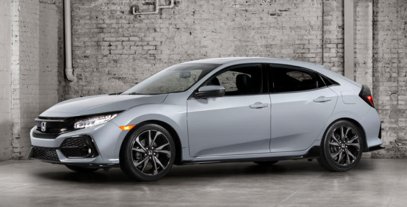 All-New 2017 Civic Hatchback to make North American debut this fall - Smail Honda Blog