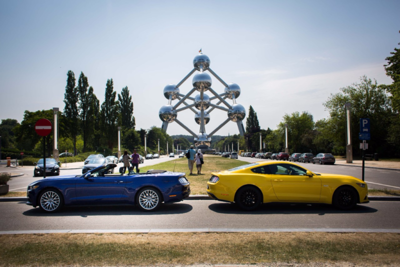 Ford Mustang Runs Wild Across Europe - Smail Ford Blog