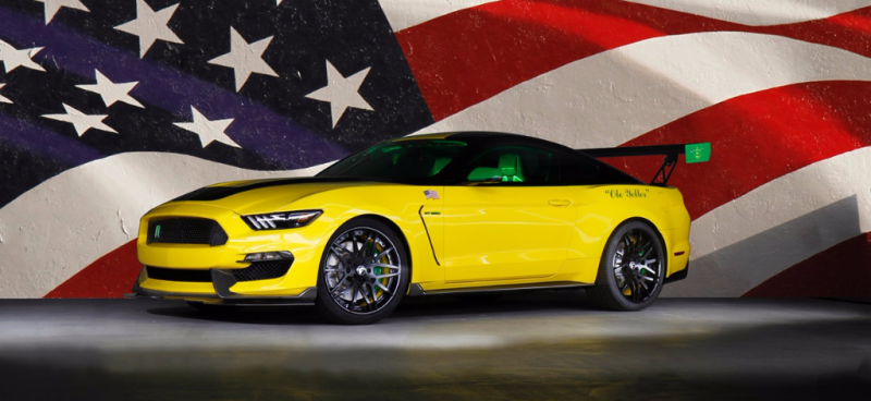 "Ford ""Ole Yeller"" Mustang sold at auction for EAA charity benefiting youth programs - Smail Ford Blog"