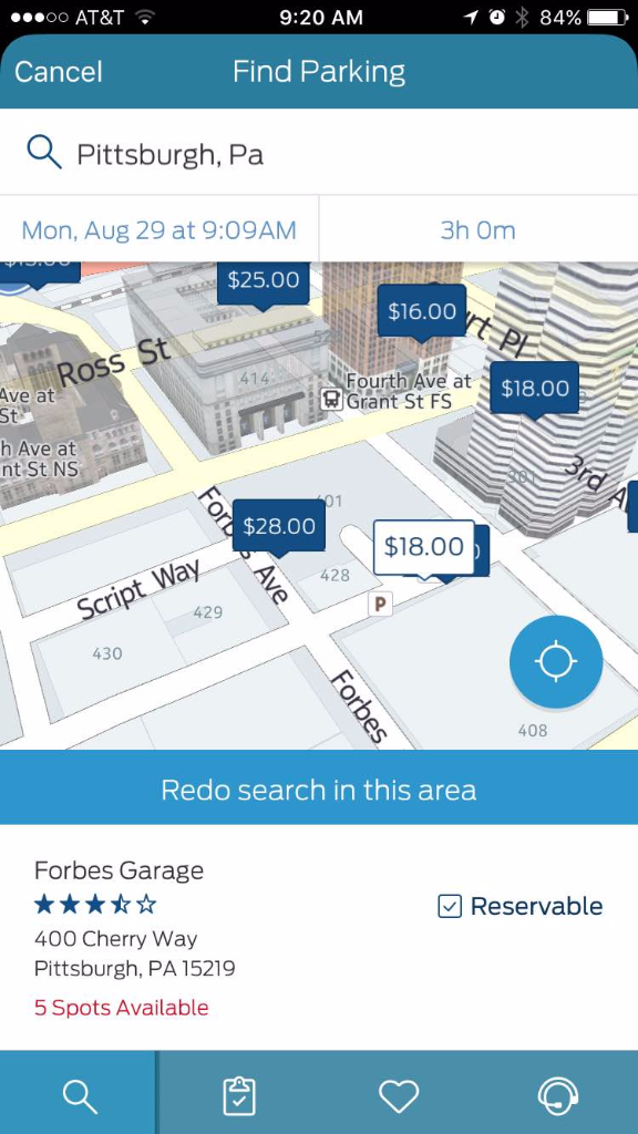 FordPass New Parking Garage Reservation App - Smail Ford Blog
